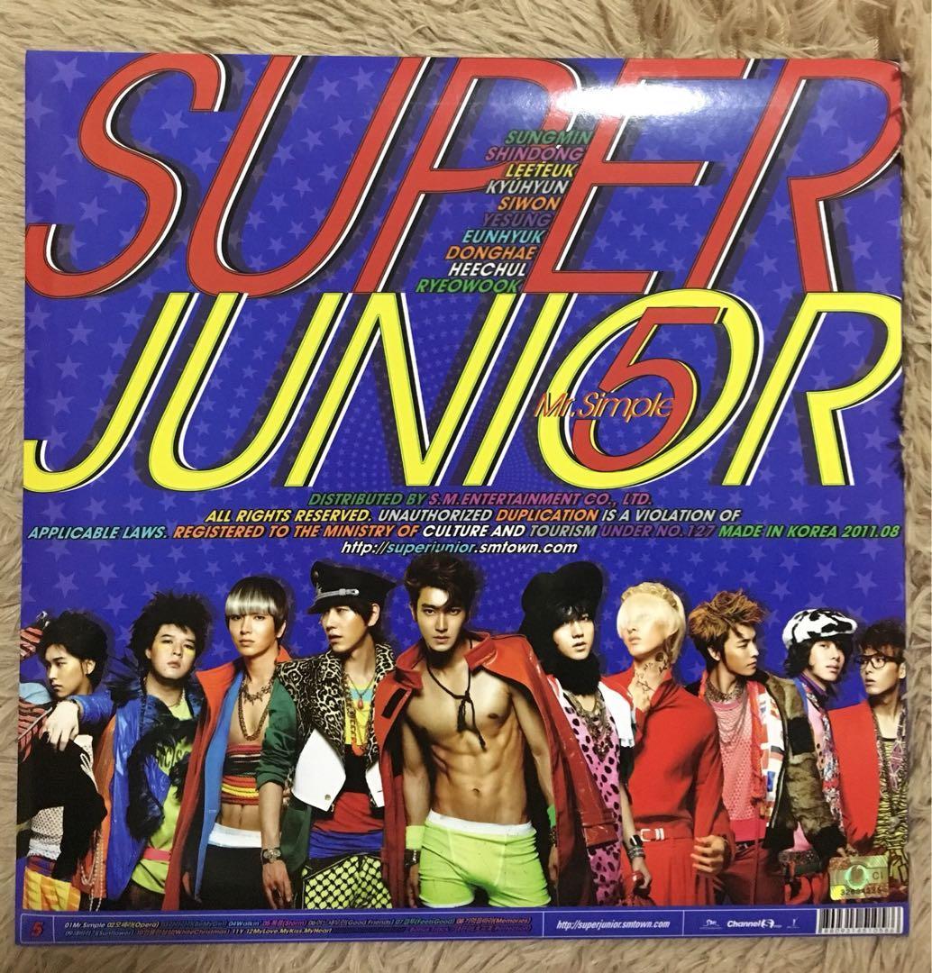 Super Junior Mr.Simple