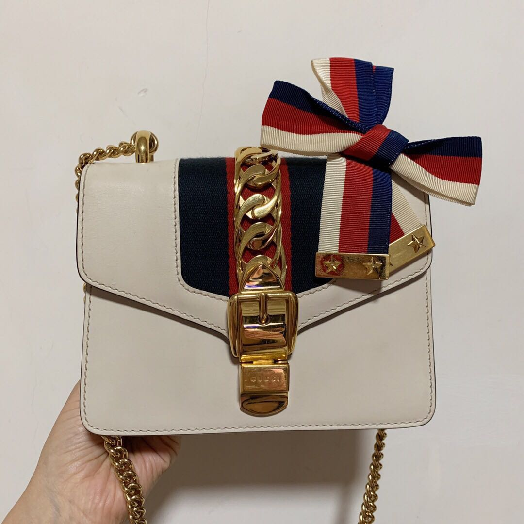 80b419bbb795 🌈❣️Super Lovely Gucci Sylvie Sling Bag, Luxury, Bags & Wallets ...