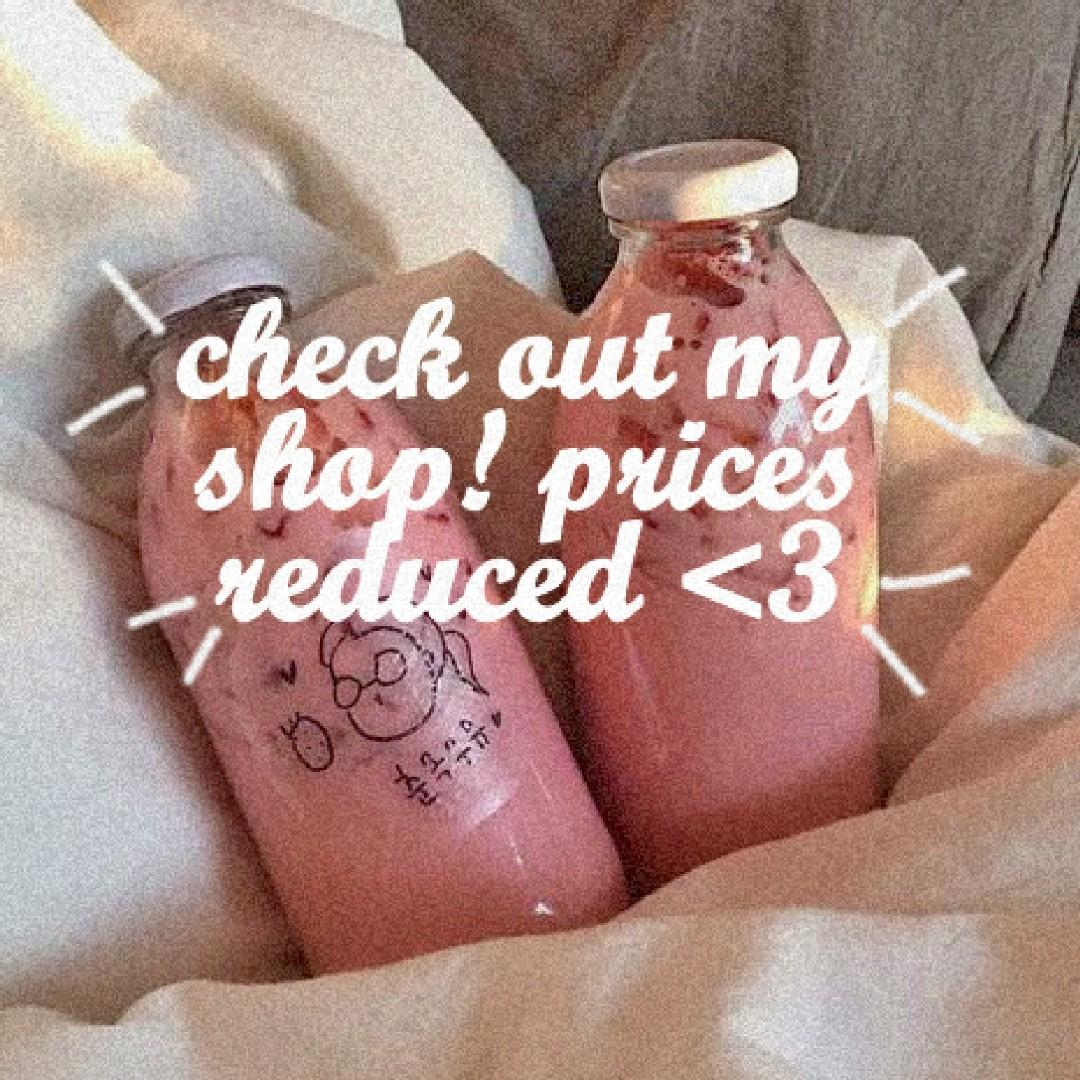 Take 30secs to check out my store!! FREE shipping on all items <3 EVERYTHING brand new