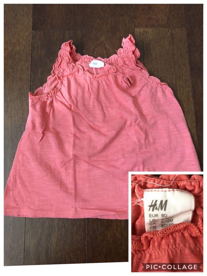 Take all baju anak perempuan authentic H&M 9-12