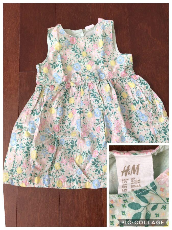 Take all baju anak perempuan authentic H&M 9-12 carters 12