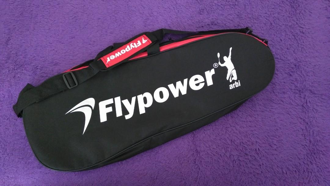 Tas raket badminton flypower