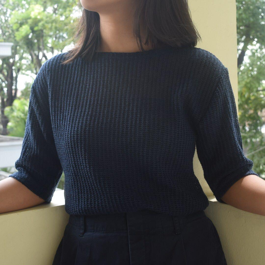 [Thrifted] Blouse Lengan 3/4