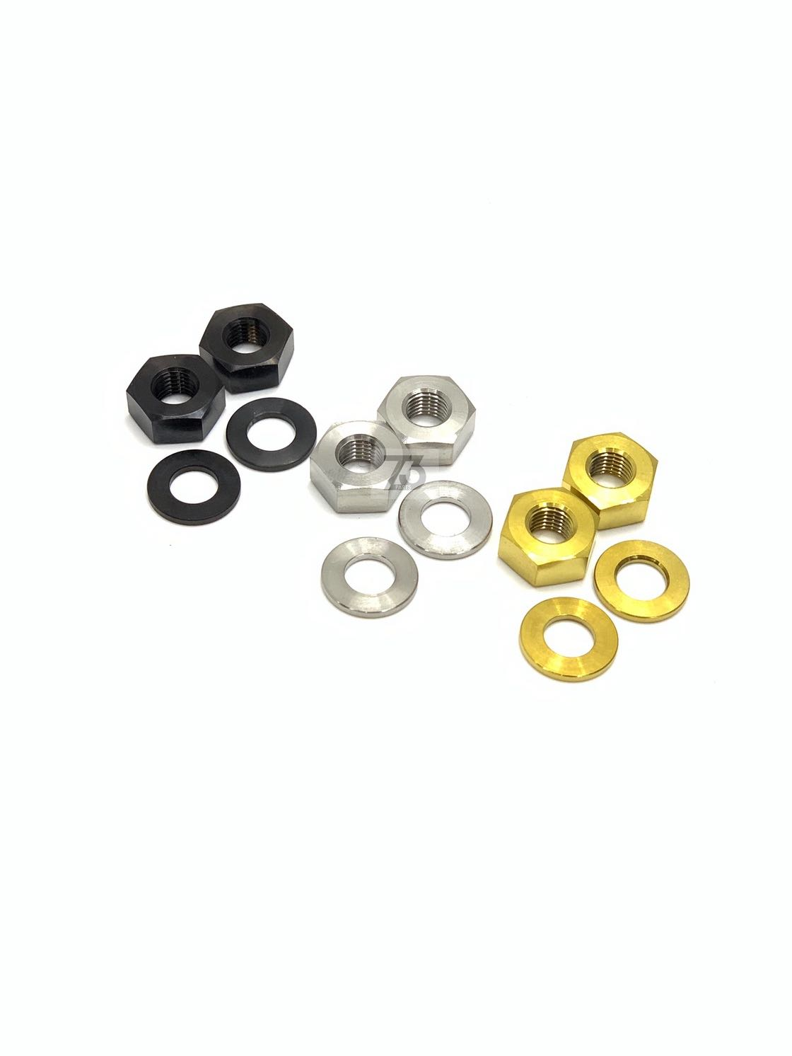 NEW! nov rear axel Titanium washer set only for nov rear axel Nuts 10