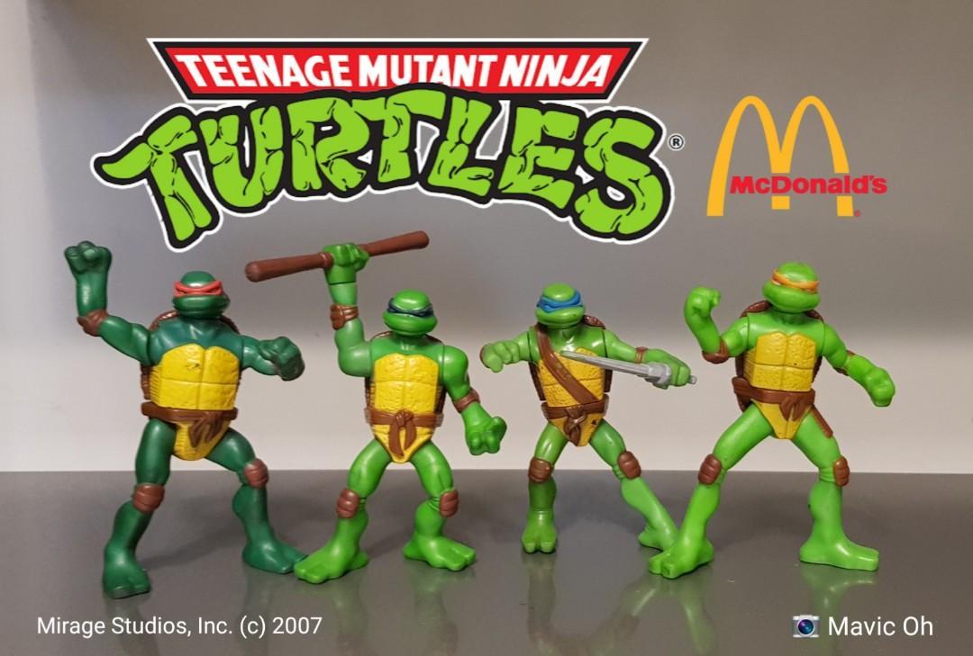 Tmnt Teenage Mutant Ninja Tutles By Mcdonald S Mcdo Happy Meal