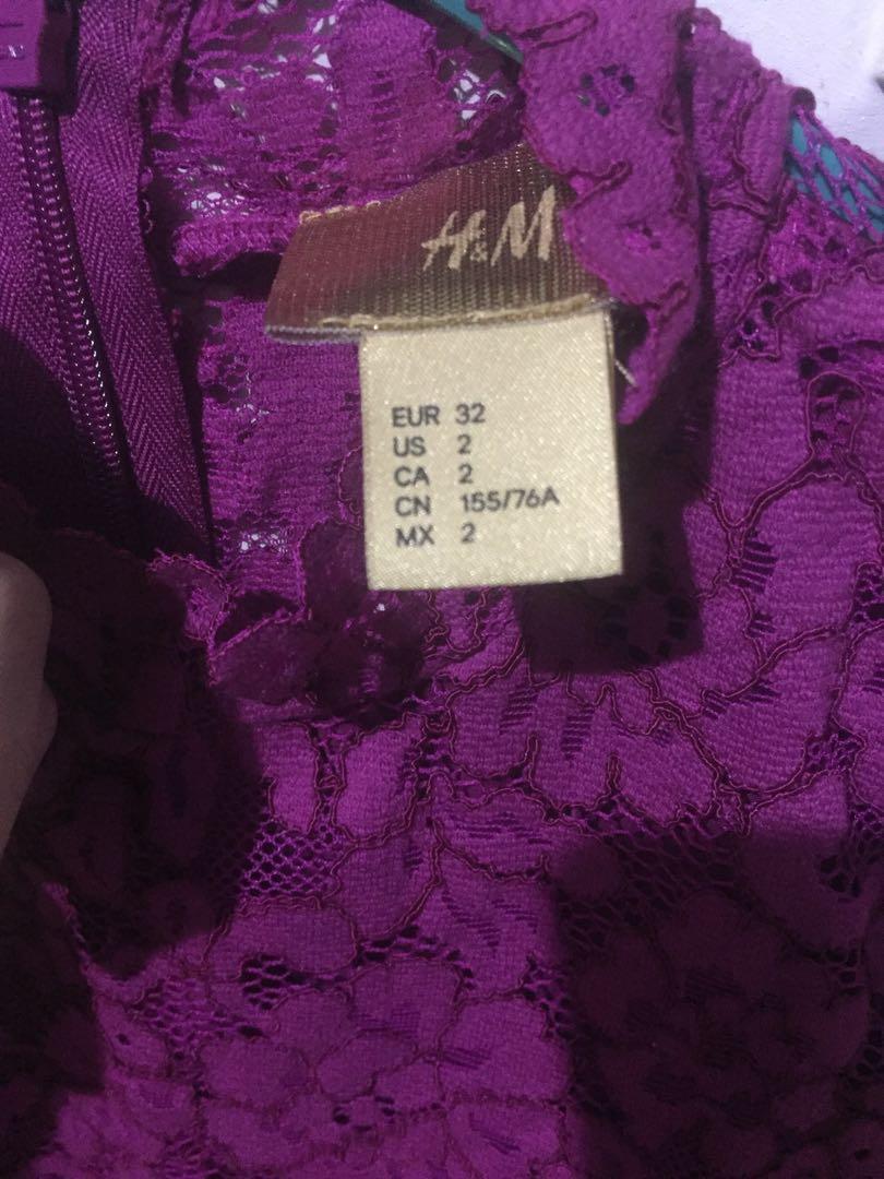 TOP brokat H&M