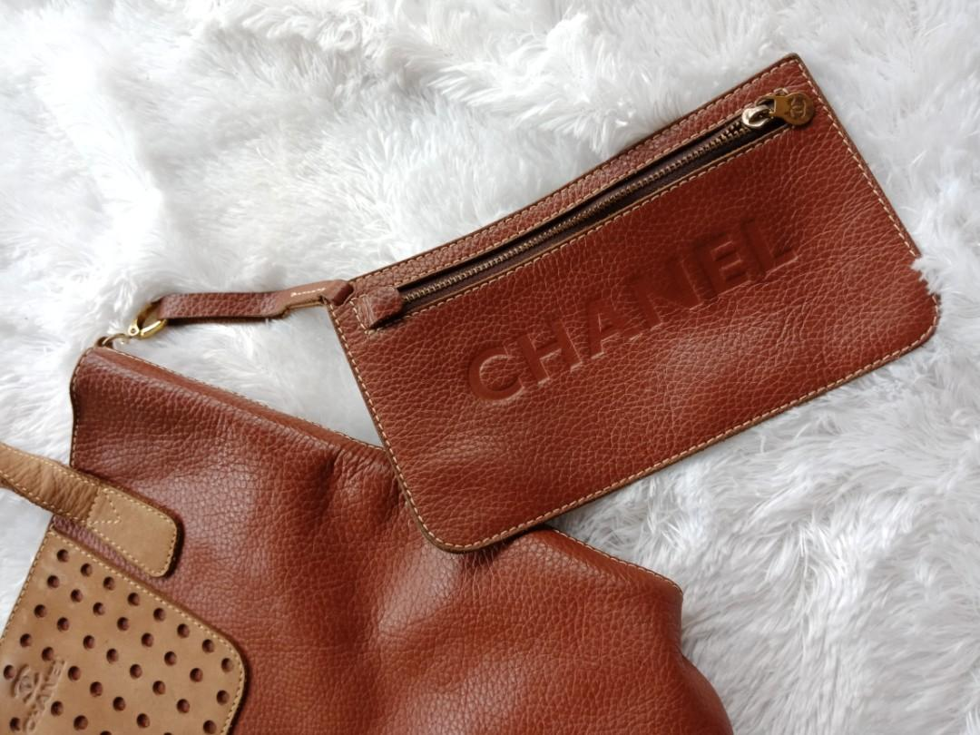 Totebag Chanel + pouch