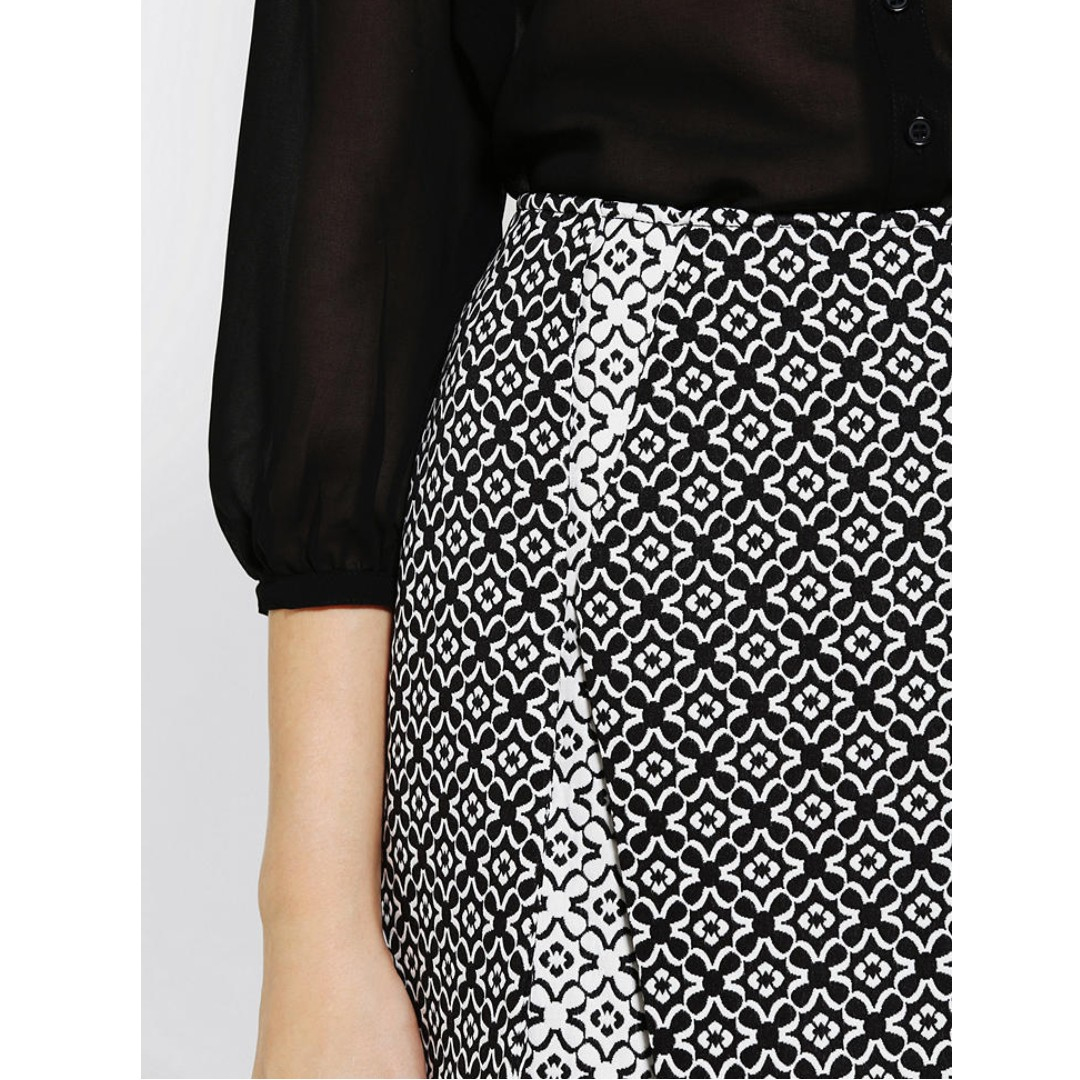 c50a97bfe8 Urban Outfitters UO Coincidence & Chance Cutaway Jacquard Skirt in ...