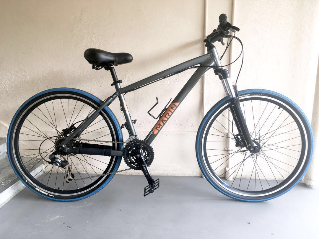 Used Bicycle Parts Or Full Bike Marin Bobcat 27 5 Bicycles