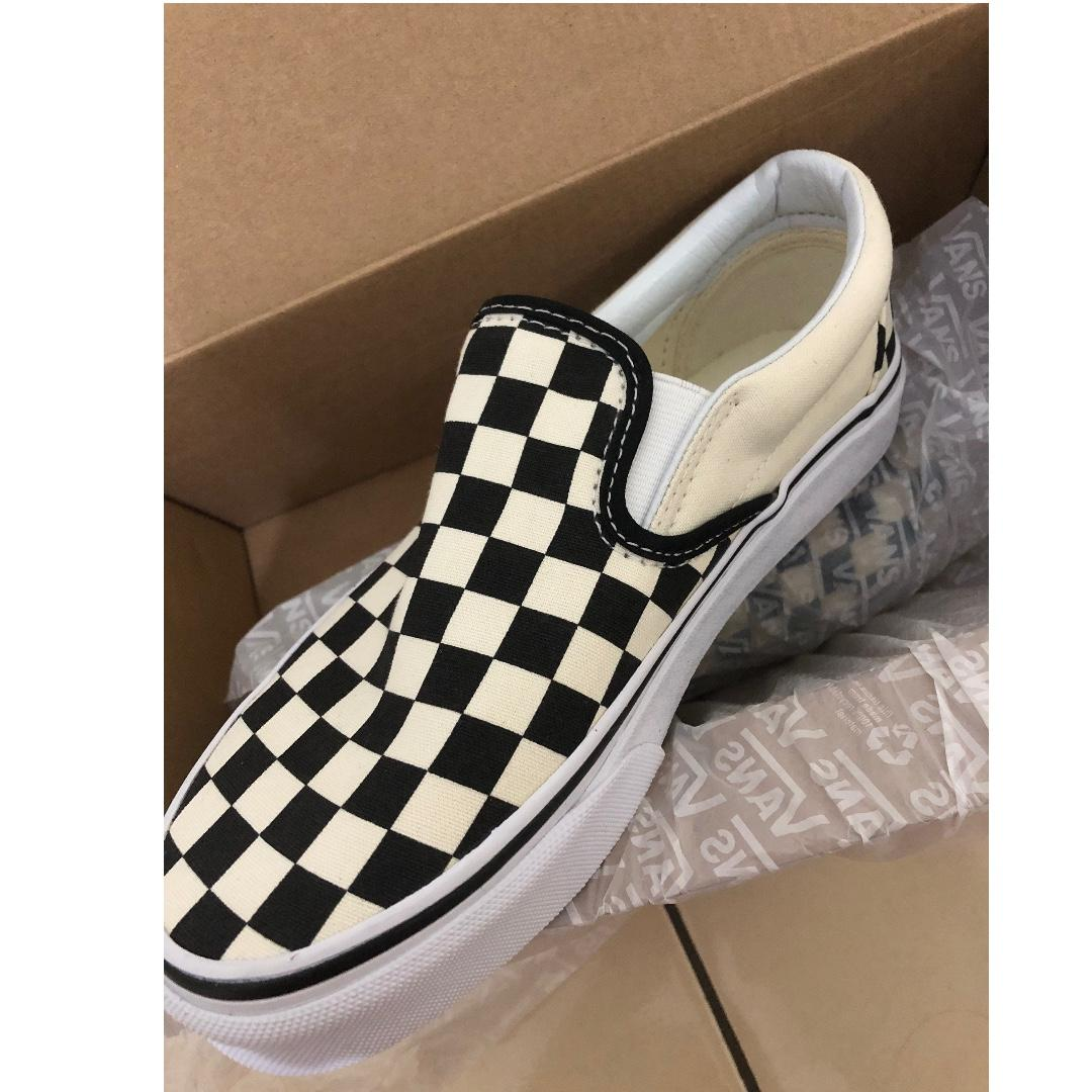 Vans slipon checkerboard bw (original new)