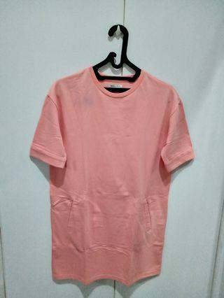 Colorbox long tee/ tee mini dress