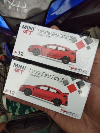 TSM MINI GT HONDA CIVIC TYPE R