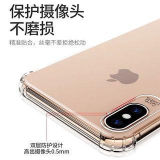 🚚 iPhone XR XS XR max透明手機殼 專門保護鏡頭