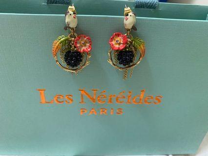 Les nereides N2 花園系列耳環