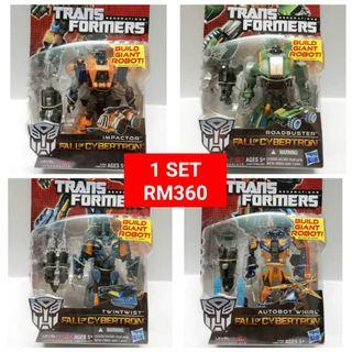 Impactor Roadbuster Twintwist Whirl Deluxe Class Transformers FOC Fall Of Cybertron RM360