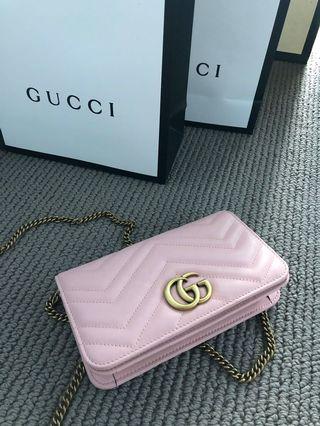 299a047beb3 Gucci pink mini bag