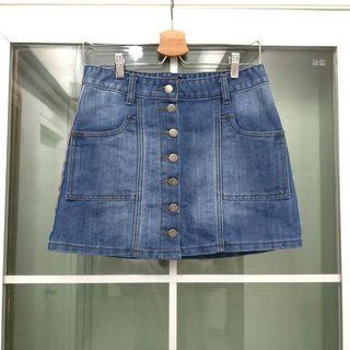 全新美國Emily女裝時尚型格牛仔裙 Brand New USA Emily Women's Fashion Denim Skirt