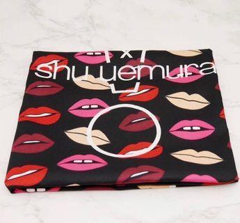 全新 Shu Uemura 絲巾 50x55cm