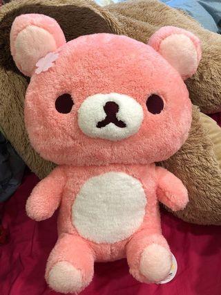 全新 日本🇯🇵正版 🌸櫻花限定版 馬卡龍粉嫩色系 櫻花粉色拉拉熊San-x 景品 櫻花拉拉熊 絨毛玩偶 娃娃
