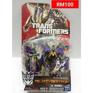 Kickback Deluxe Class Transformers FOC Fall Of Cybertron RM100