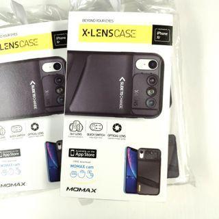 全新行貨 Momax iPhone XR X-Lens case 3in1 Lens 3合1鏡頭組合保護殼