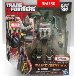 Soundblaster Voyager Class Transformers FOC Fall Of Cybertron RM150