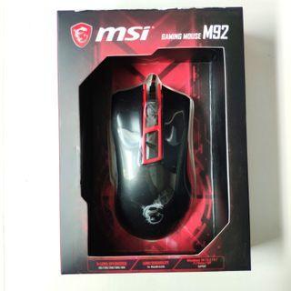 全新正版MSI M92 電競滑鼠 Gaming Mouse RGB 微星滑鼠