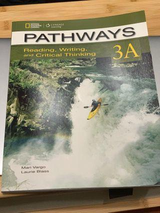 🚚 *全新* PATHWAYS 3A Reading, Writing, and Critical Thinking