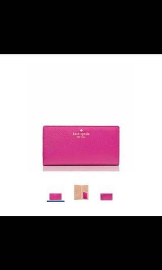 Kate Spade - Grand Street Stacy Wallet (100% Authentic)
