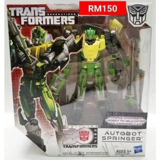 Springer Triple Changer Voyager Class Transformers Generations RM150