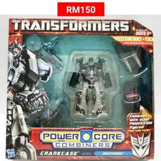 Crankcase With Destrons Commander Transformers Power Core Combiners RM150