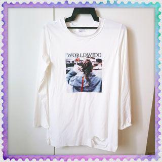 HIIXIIVI Women long sleeve shirt fashion worldwide