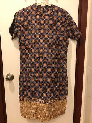 Mididress Batik