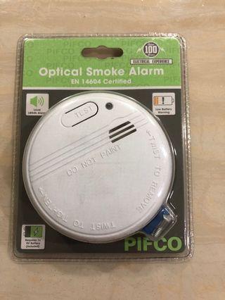 Brand New! PIFCO Optical Smoke Alarn