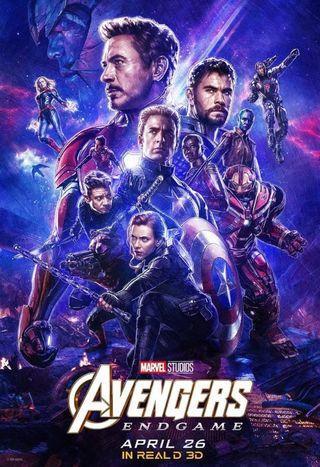 6x Avengers Movie ticket