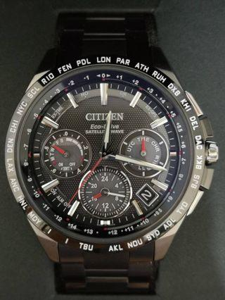 星辰CITIZEN 光動能GPS衛星對時腕錶