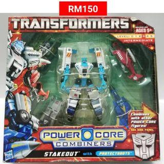 Stakeout With Protectobots Commander Transformers Power Core Combiners RM150