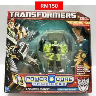 Steamhammer With Constructicons Commander Transformers Power Core Combiners RM150