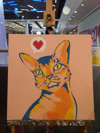 Commission Pet Painting