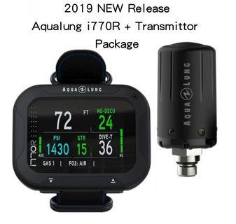 2019 NEW Aqualung i770R rechargeable Dive Computer + Transmitter Package