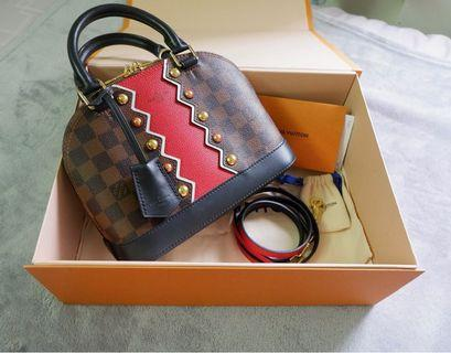 e4ad86659e58 Louis Vuitton LV Alma BB CERISE Limited Edition 2018