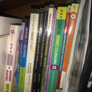 WTS CHEAP ASSESSMENT BOOKS TEXTBOOKS GUIDE BOOKS O LEVEL