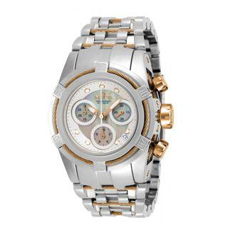 INVICTA Bolt Lady 40mm Stainless Steel Rose Gold + Stainless Steel White dial 5040.D Quartz Model: 16109