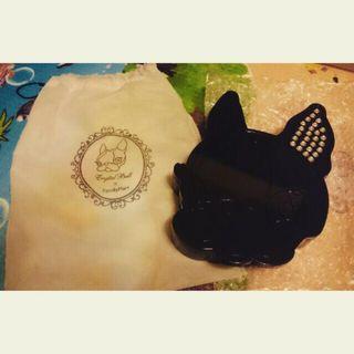 🚚 Crystal ball 狗頭 飾品收納盒/珠寶盒/梳化鏡