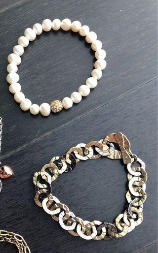 Bracelet/pearl bracelet/gelang akses oristanesi