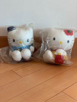 Hello kitty 公仔5隻