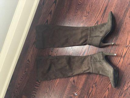 Thigh high boots size 7.5