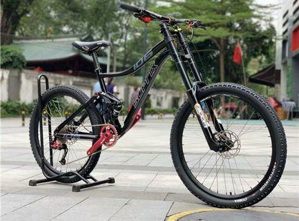 爬山單車軟尾26吋10速黑色100%全新