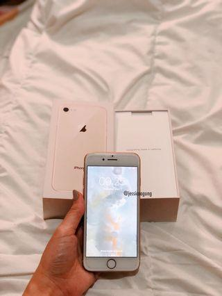 Iphone 8 gold 64gb Second