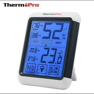 Therm Pro indoor humidity & temperature monitor